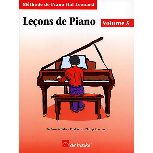 Hal Leonard Piano Lessons Book 5 - French Edition Education Piano Lib French Ed Series Written by Barbara Kreader