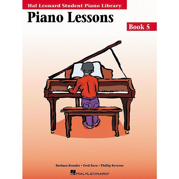 Hal LeonardPiano Lessons Book 5 Hal Leonard Student Piano Library