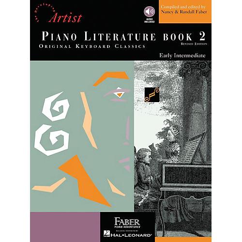 Faber Piano Adventures Piano Literature Book 2 - Developing Artist Original Keyboard Classics Book/CD - Faber Piano-thumbnail