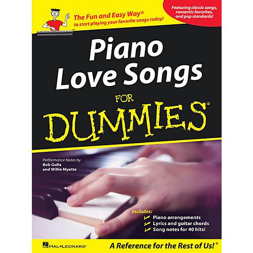 Hal Leonard Piano Love Songs For Dummies