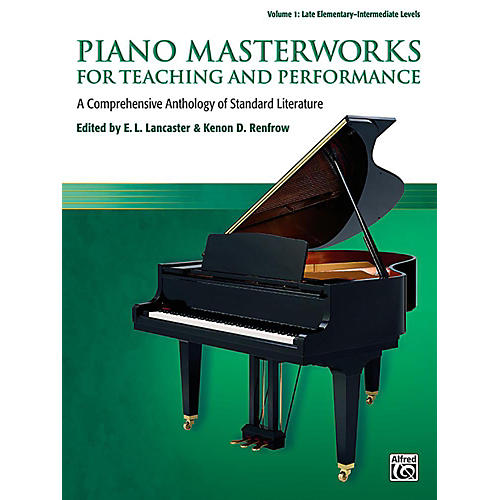 Alfred Piano Masterworks for Teaching and Performance, Volume 1 - Late Elementary / Intermediate-thumbnail