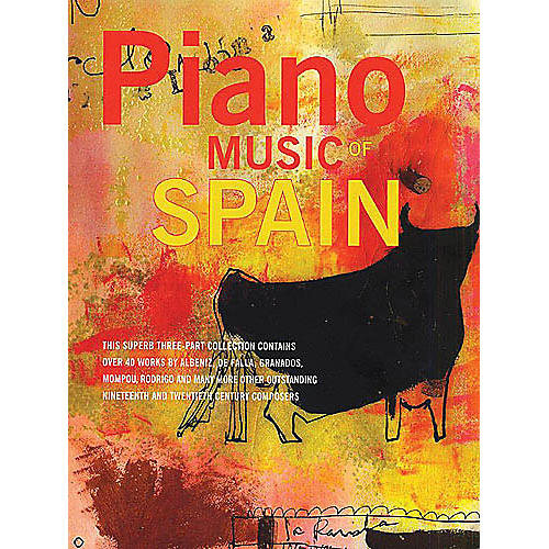 Music Sales Piano Music Of Spain: Volumes One To Three Music Sales America Series-thumbnail