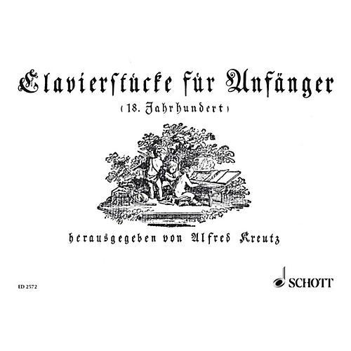 Schott Piano Pieces For Beginners Schott Series