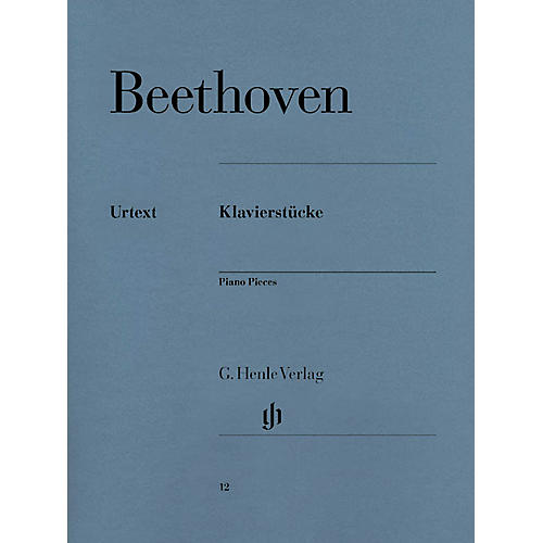 G. Henle Verlag Piano Pieces Henle Music Folios Series Softcover-thumbnail