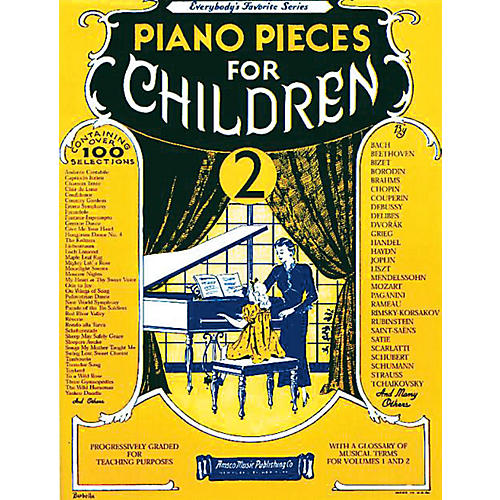 Music Sales Piano Pieces for Children - Volume 2 Music Sales America Series Softcover