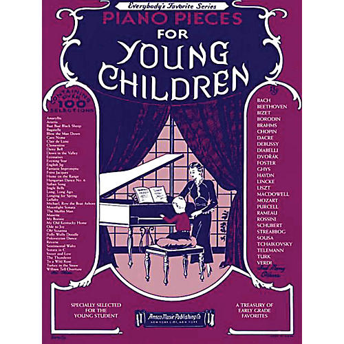 Music Sales Piano Pieces for Young Children Music Sales America Series Softcover-thumbnail