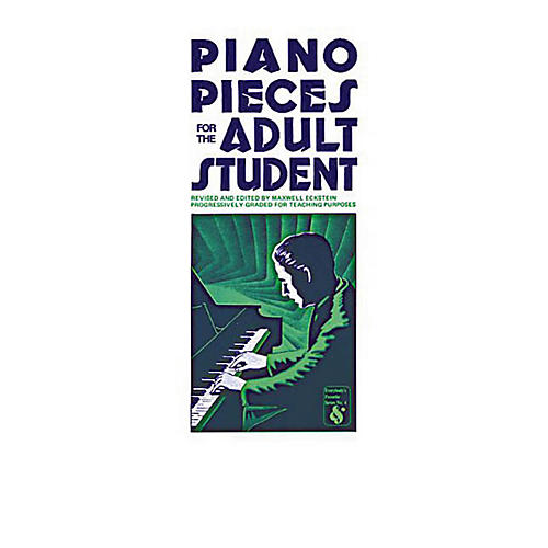 Music Sales Piano Pieces for the Adult Student Music Sales America Series Softcover-thumbnail