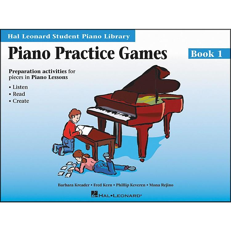 Hal LeonardPiano Practice Games Book 1 Hal Leonard Student Piano Library
