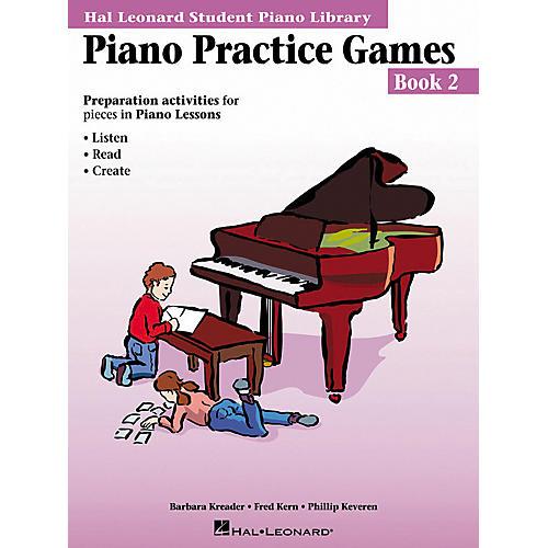 Hal Leonard Piano Practice Games Book 2 Hal Leonard Student Piano Library