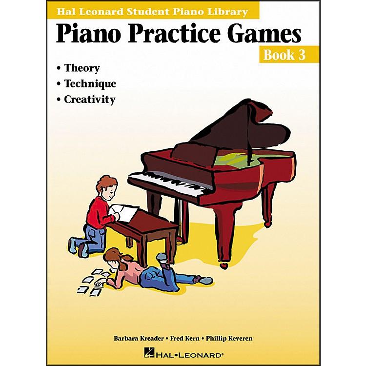 Hal LeonardPiano Practice Games Book 3 Hal Leonard Student Piano Library