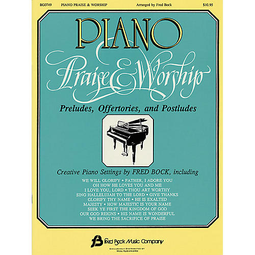 Fred Bock Music Piano Praise & Worship Fred Bock Publications Series-thumbnail
