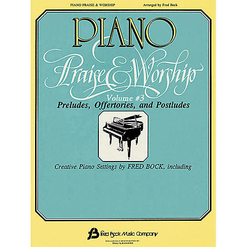 Fred Bock Music Piano Praise and Worship #3 (Arr. Fred Bock) Fred Bock Publications Series-thumbnail