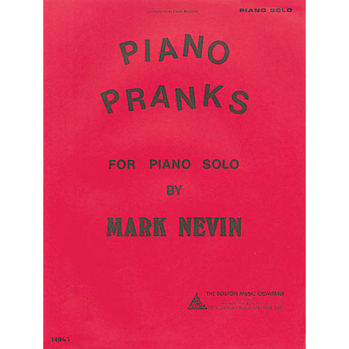 Music Sales Piano Pranks Music Sales America Series