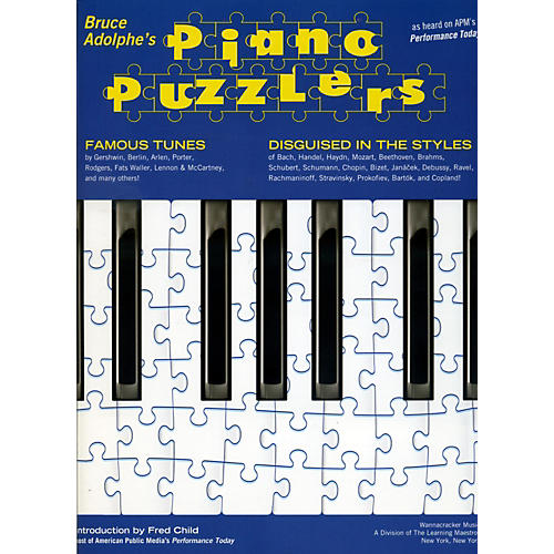 Hal Leonard Piano Puzzlers - As Heard on APM's Performance Today-thumbnail