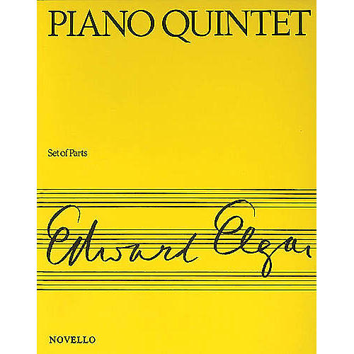 Music Sales Piano Quintet Op. 84 Music Sales America Series Composed by Edward Elgar-thumbnail