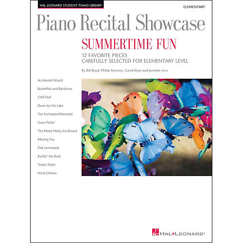 Hal Leonard Piano Recital Showcase - Summertime Fun - Elementary Level Book-thumbnail