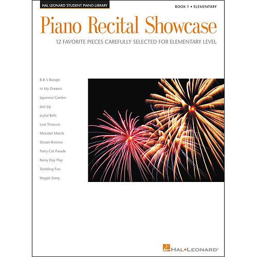 Hal Leonard Piano Recital Showcase Book 1 Elementary Hal Leonard Student Piano Library