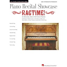 Hal Leonard Piano Recital Showcase: Ragtime! Piano Library Series Book by Various (Level Early Inter)