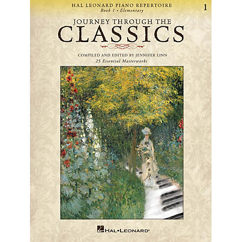Hal Leonard Piano Repertoire - Journey Through The Classics Book 1 Elementary
