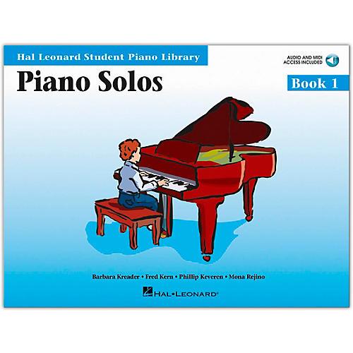 Hal Leonard Piano Solos Book 1 Book/CD Hal Leonard Student Piano Library