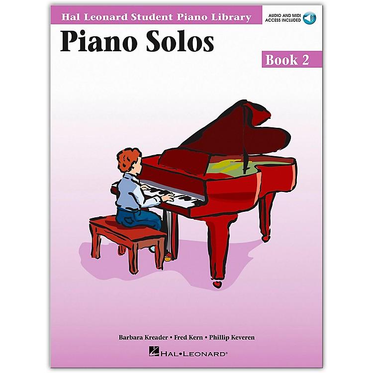 Hal LeonardPiano Solos Book 2 Book/CD Hal Leonard Student Piano Library