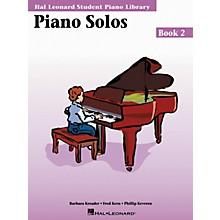 Hal Leonard Piano Solos Book 2 Hal Leonard Student Piano Library