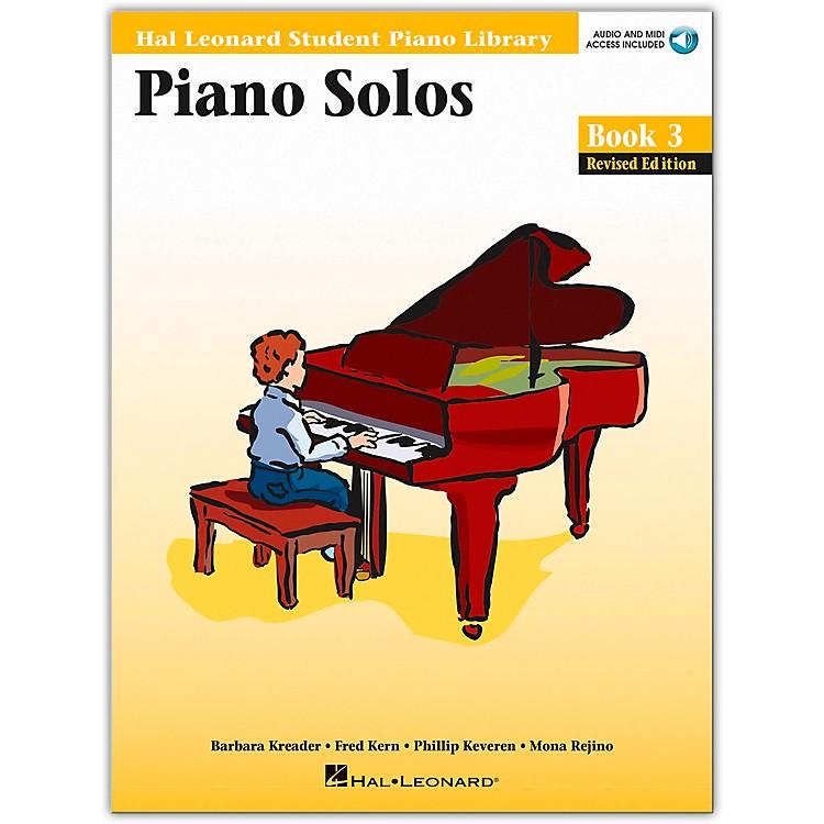 Hal LeonardPiano Solos Book 3 Book/CD Hal Leonard Student Piano Library