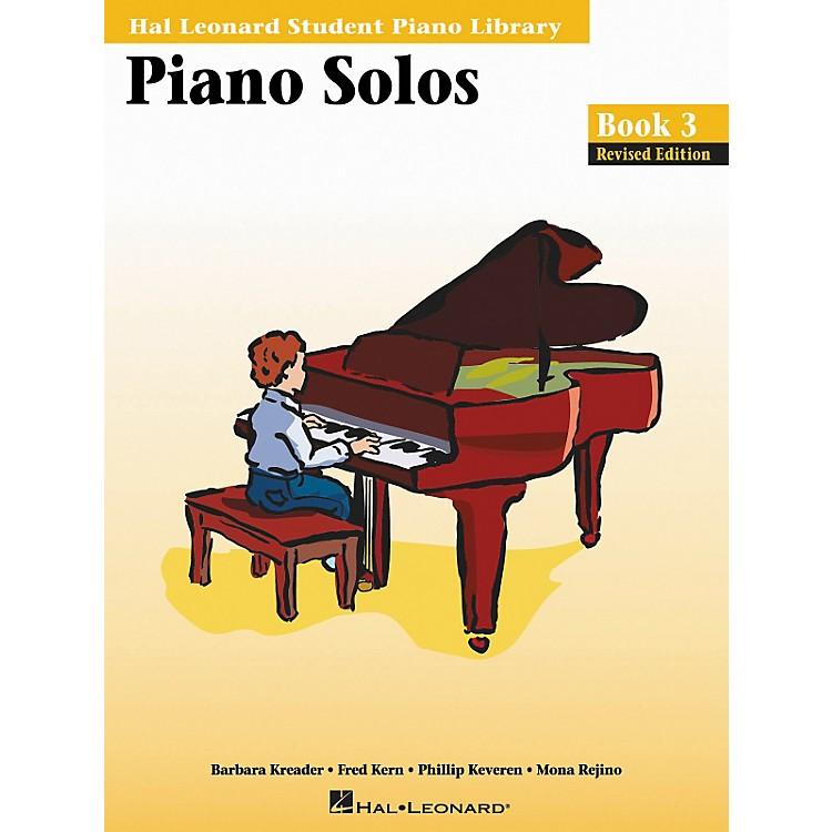 Hal LeonardPiano Solos Book 3 Hal Leonard Student Piano Library
