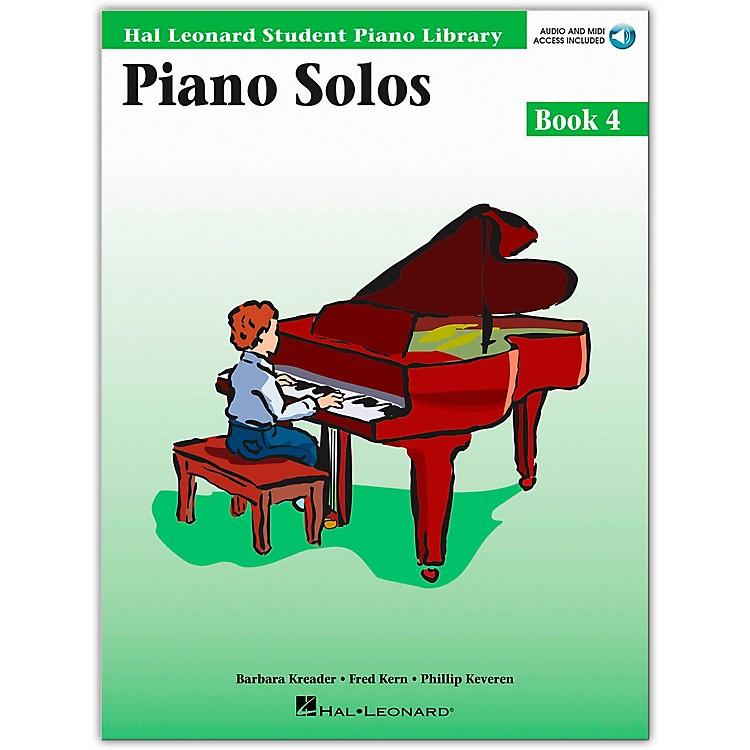 Hal LeonardPiano Solos Book 4 Book/CD Hal Leonard Student Piano Library