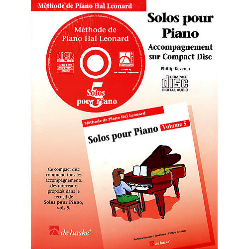 Hal Leonard Piano Solos Book 5 - CD - French Edition Education Piano Lib French Ed Series CD (Book 5)