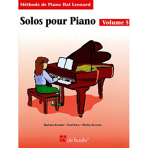 Hal Leonard Piano Solos Book 5 - French Edition Education Piano Lib French Ed Series by Various (Book 5)