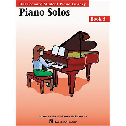 Hal Leonard Piano Solos Book 5 Hal Leonard Student Piano Library
