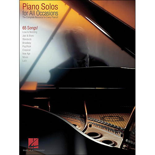 Hal Leonard Piano Solos for All Occasions - Complete Resource for Every Pianist arranged for piano solo