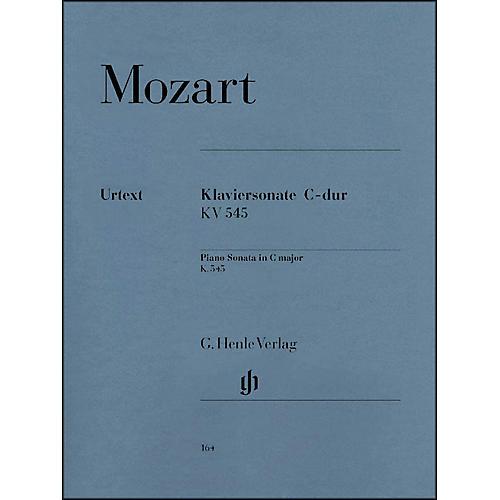 G. Henle Verlag Piano Sonata In C Major K545 (Facile) By Mozart