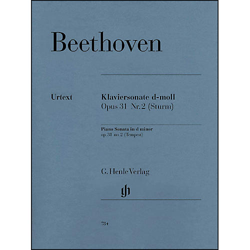 G. Henle Verlag Piano Sonata No. 17 in D Minor Op. 31 Tempest Sonata By Beethoven-thumbnail