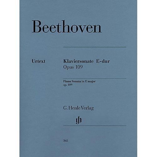 G. Henle Verlag Piano Sonata No. 30 in E Major Op. 109 Henle Music Folios Series Softcover-thumbnail