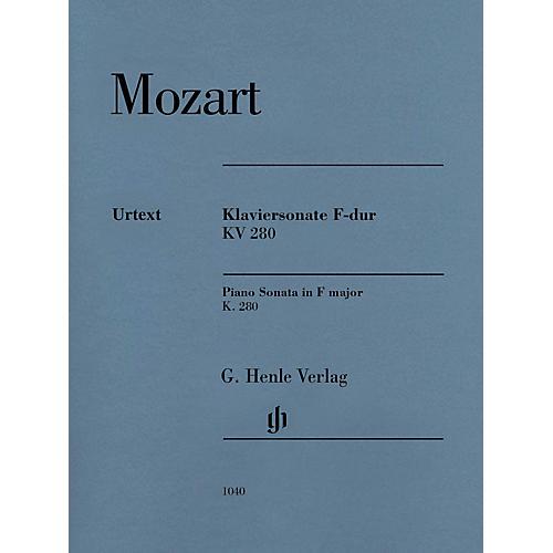 G. Henle Verlag Piano Sonata in F Major K280 (189e) Henle Music Folios by Mozart Edited by Ernst Herttrich