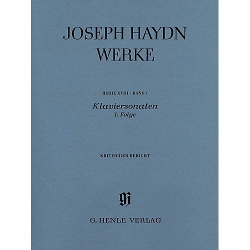 G. Henle Verlag Piano Sonatas, 1st sequence Henle Complete Edition Series Softcover