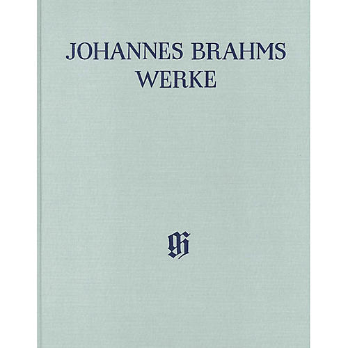 G. Henle Verlag Piano Sonatas Henle Complete Edition Series Hardcover Composed by Johannes Brahms Edited by Katrin Eich-thumbnail