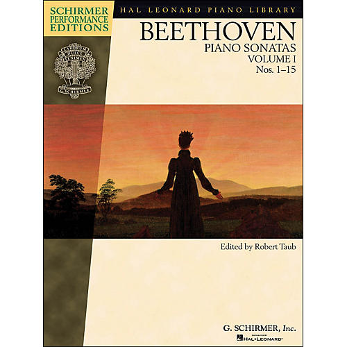 G. Schirmer Piano Sonatas Vol.1 (1 - 15) Schirmer Performance Edition Book Only By Beethoven / Taub-thumbnail