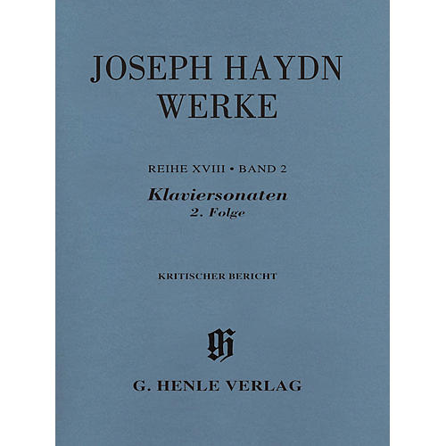 G. Henle Verlag Piano Sonatas Volume 2 Henle Complete Edition Series Softcover-thumbnail