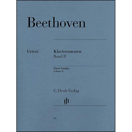 G. Henle Verlag Piano Sonatas Volume II By Beethoven / Wallner