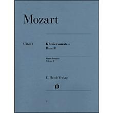 G. Henle Verlag Piano Sonatas Volume II By Mozart / Herttrich