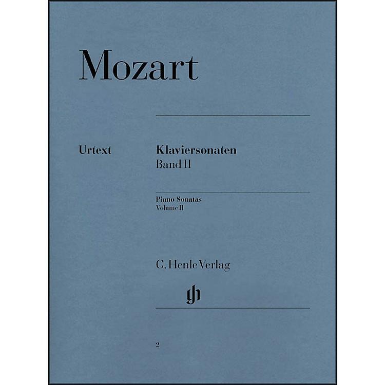 G. Henle VerlagPiano Sonatas Volume II By Mozart / Herttrich