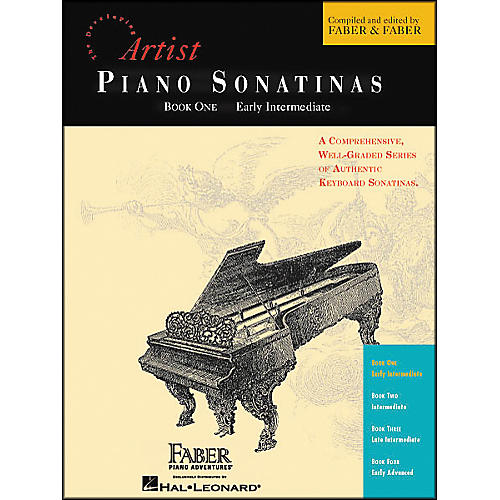 Faber Piano Adventures Piano Sonatinas Book 1 Early Intermediate - Faber Piano-thumbnail