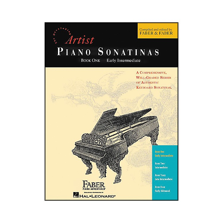 Faber Music Piano Sonatinas Book 1 Early Intermediate - Faber Piano