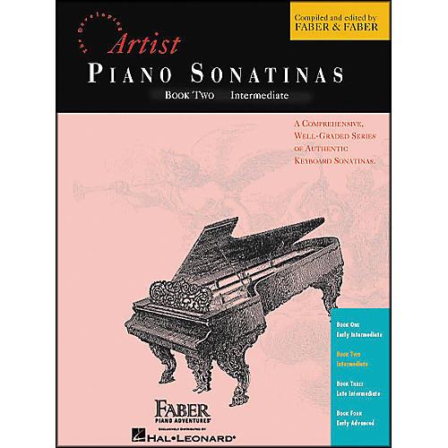 Faber Piano Adventures Piano Sonatinas Book 2 Intermediate - Faber Piano