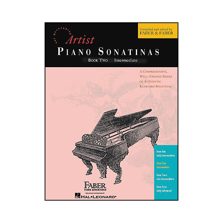 Faber Music Piano Sonatinas Book 2 Intermediate - Faber Piano