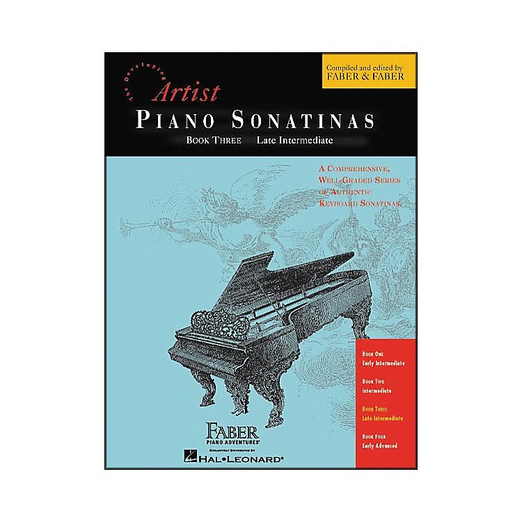 Faber Piano AdventuresPiano Sonatinas Book 3 Late Intermediate - Faber Piano