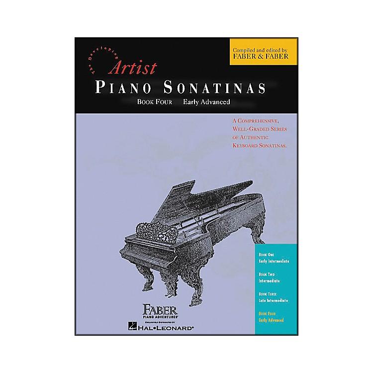Faber MusicPiano Sonatinas Book 4 Early Advanced - Faber Piano